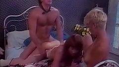 Lesbian girls and lucky pecker