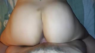 Fucking her pussy hard and deep