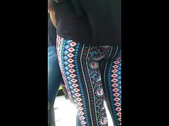 Patterned Leggings Sweet Ass Cheeks Jiggle's Thumb