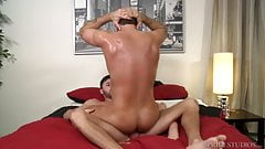 ExtraBigDicks Big Dick Sweaty Daddy Rides Boyfriends Cock