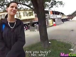Teen girl fucks with stranger on public by Mallcuties