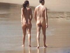 FKK young couple full nude walking's Thumb