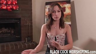 I am going to treat myself to a really big black cock