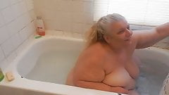 in the bath tub