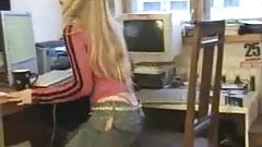 Hot College Girl Strips At Home