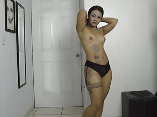 Sexy Latina Striptease
