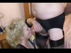 BBW Milf teases Cd cock