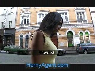 HornyAgent Hot black babe needs a lift