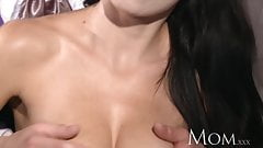 MOM Halloween MILF Bride is dying for some hard meat inside
