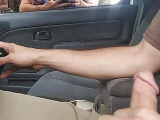 Dick Flash Random Lady Who Flashes Me And Watches Me Cum