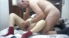 old couple loves to do it every day