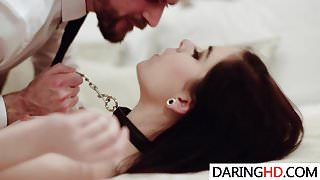 Submissive Amber Nevada gets nailed
