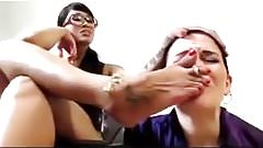 Slave Girl humiliated by her female boss
