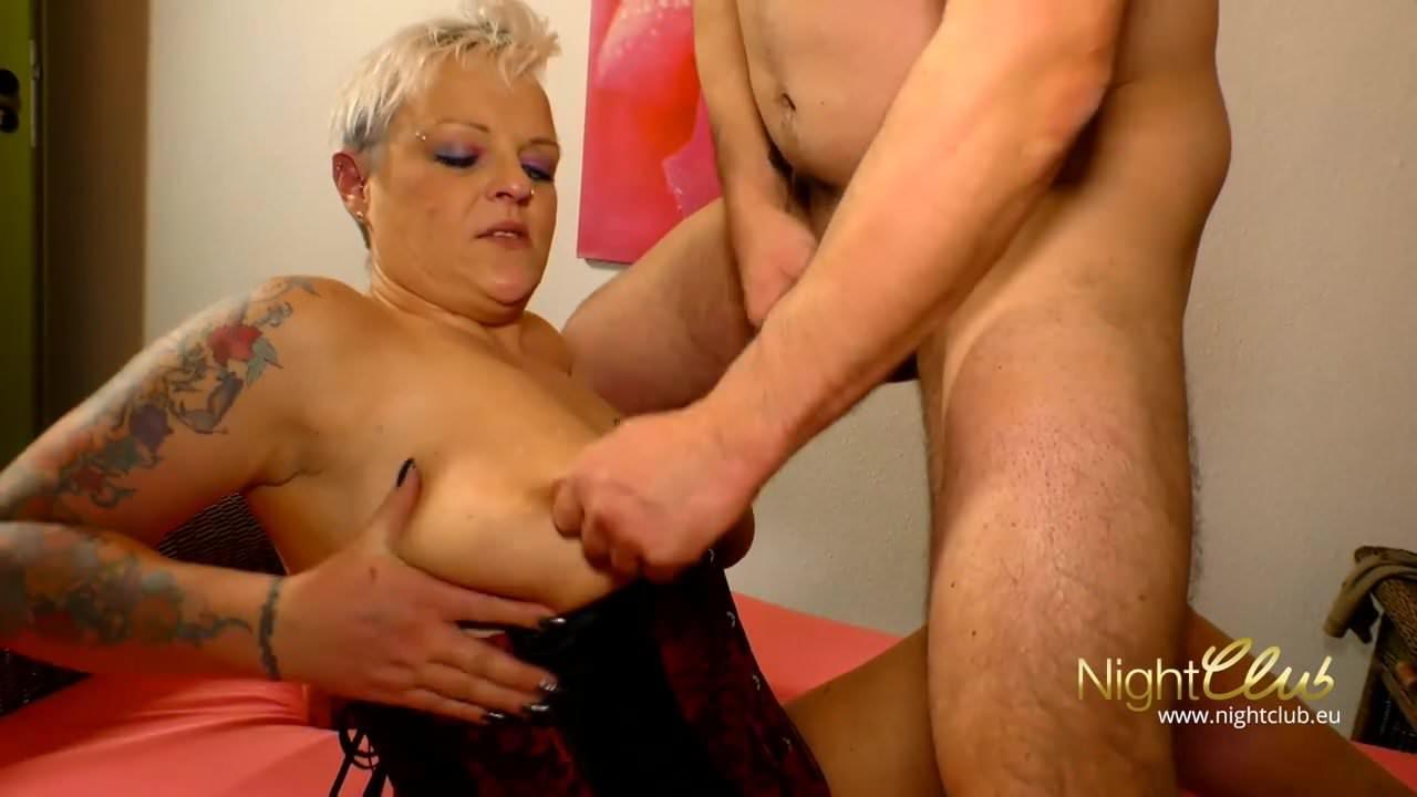 Frau und penis