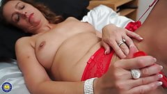 Lovely mature mother needs a good fuck