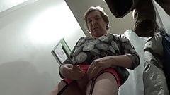 crossdresser sissy sounding in store fitting rooms 49