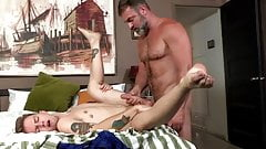 Teen Gets His Ass Plowed by Hot Daddy