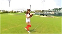 softcore asian baseball shortshorts tease