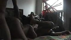 Amateur Black Threesome