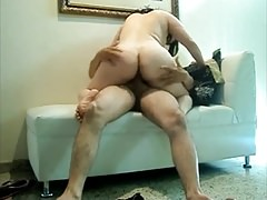 Mature Big Ass Wife Fucking at Home