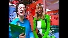 Sharon Davies Nip-On & Up-Skirt See Thru Panties?