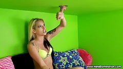 her parents made her do it taboo gloryhole handjob