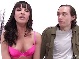 Super hot Dana DeArmond takes it in the ass
