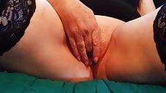 Handjob after She Masturbates