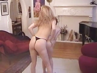 Lesbians dry humping. One more