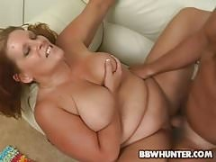 Tattooed BBW Leighann Fucked and Jizzed On