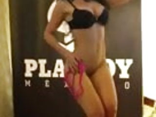 Diosa Canales Venezuelan Vedette Gets Naked For Playboy