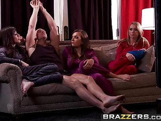 Preview 1 of Brazzers - Real Wife Stories -  Slut Wives scene starring Je