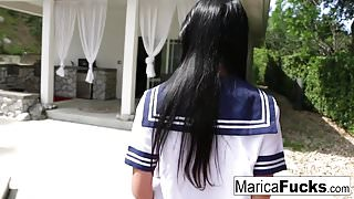 Marica Hase masturbating hard