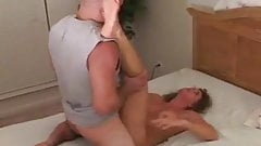 wife takes BBC pounding and cuckold hubby encourages her