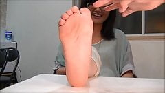 Asian Foot Girl
