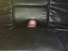 Fucking my leather chair