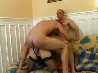 slut wife fucks his two mates