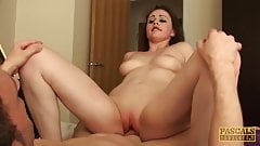 PASCALSSUBSLUTS - Fabulous Tina Kay choked and fucked hard