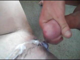 cum on Pussy very nice