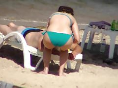 sikensikene turkey candid beach booty 527
