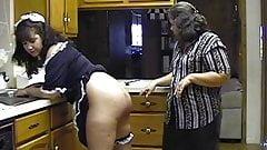 Mature couple spank maid's Thumb