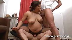 Louna BBW gang bang
