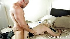 PARADISE FILMS Rough sexual times for a slutty blonde