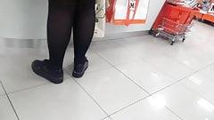 Nice pantyhosed legs