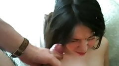 prostitute in lingerie and facial