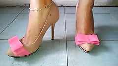 cat walk high heels