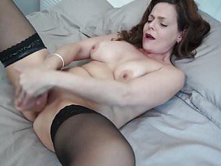 Naughty MILF from UK loves hard sex