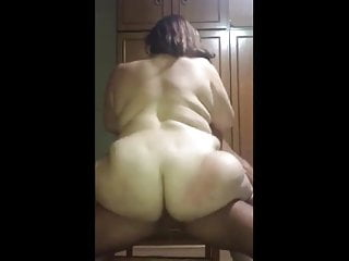 Chubby Riding On Her Stallion