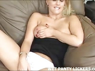 Watch me play with my pussy over my panties