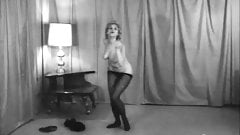 GO-GO IN NYLONS - vintage 60's dance striptease